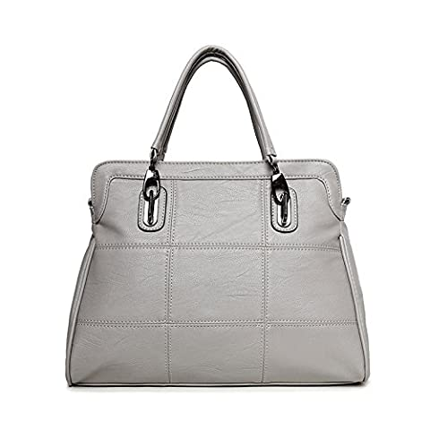 Mefly New Pu Leather Handbags Bags Bag Large Leisure Embroider