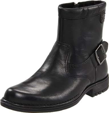 Rockport Men's Parkridge Buckle Black Zip Up Boot K57996  7 UK, 40.5 EU, 7.5 US
