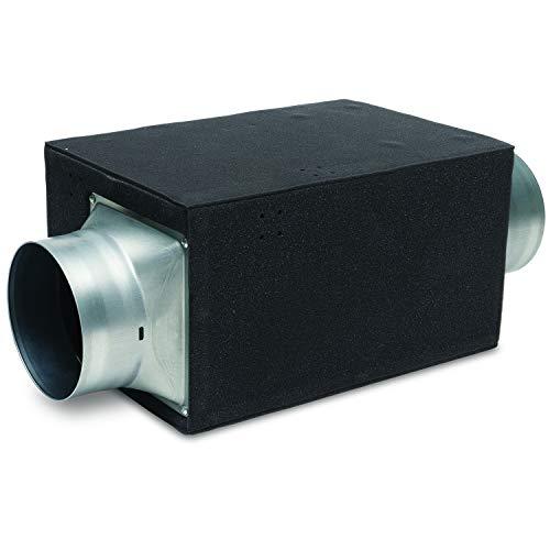 Panasonic FV-15NLFS1 WhisperFresh Multi-Flow Badventilator, schwarz