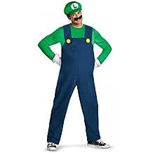 Disfraz Luigi deluxe adulto - Único, XL