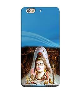 PrintVisa Designer Back Case Cover for Gionee Elife S7 (Hindu Varanasi)