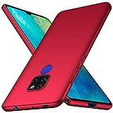 TopACE Hülle für Huawei Mate 20 Ultradünne Leichte Matte Handyhülle für Mate 20 Einfache Stoßfeste Kratzfeste Ganzkörper Hülle kompatibel mit Huawei Mate20 (Rot)