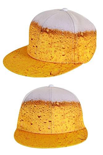 HaPe-Kopa Cape, Baseballkappe Bier Glas mit Schaum Neuheit 2018