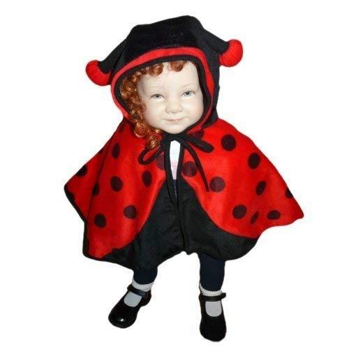 PUS Marienkäfer- Kostüm-e Umhang An38, Gr. 74-98, Kat. 3, Achtung: B-Ware Artikel. Bitte Artikelmerkmale lesen! Baby Babies kleine Kind-er Mädchen Junge- Fasching-s Karneval-s Geburtstags- - Kleine Marienkäfer Baby Kostüm