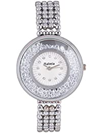 Rabela Women's Analogue White Dial watch RAB-226