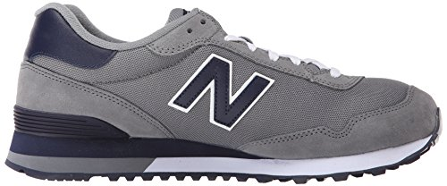 New Balance Mens Classics Traditionnels Suede Trainers Gris Marine
