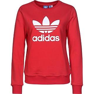 sweatshirt adidas damen rot