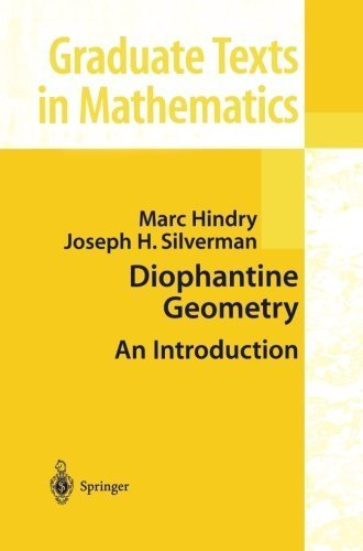 Diophantine Geometry: An Introduction (Graduate Texts in Mathematics) by Marc Hindry (2000-03-23)