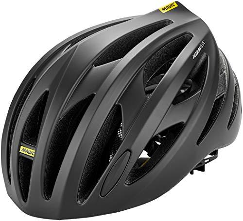 MAVIC Aksium Elite Rennrad Fahrrad Helm schwarz/weiß 2018: Größe: S (51-56cm)
