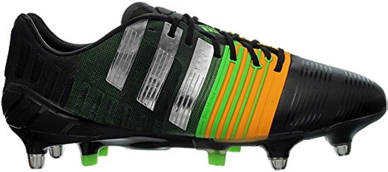 Adidas - Nitrocharge 10 SG - M17738 - El Color: Negros-Plateado - Talla: 42.6