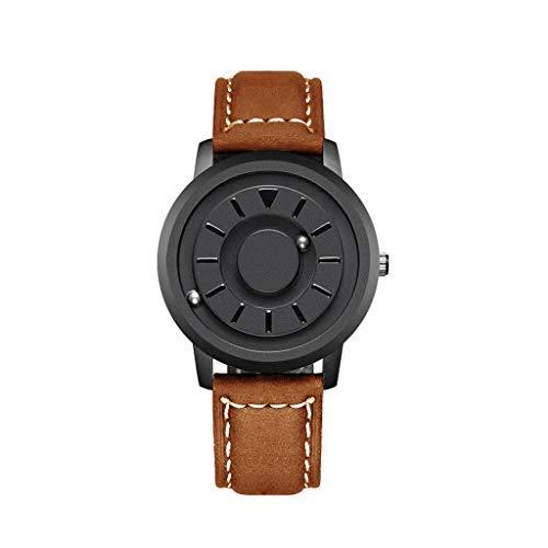 Zz max Business-Uhr für Herrenmode wasserdichtes Kleid Analog Classic Balance Ball Herren Armbanduhren Herrenuhr (Farbe : C) (Militär Kleid Ball Kleider)