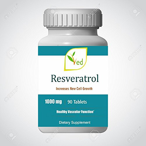 Ved Resveratrol 1000 mg x 90 tablets (3 months supply) Test