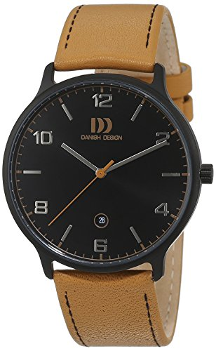 Danish Design Men's Quartz Watch 3316338 with Leather Strap