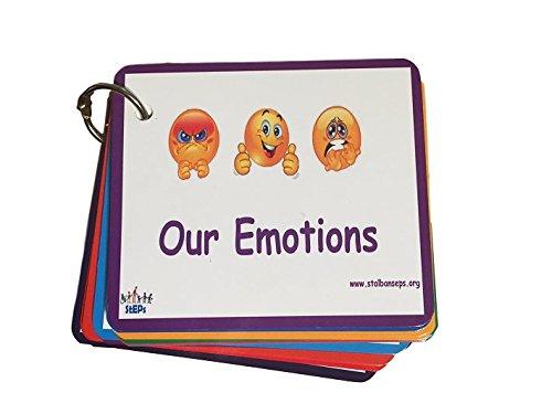 Unbekannt Emotionen Emoticon Gefühle Karten (Lanyard Habe)