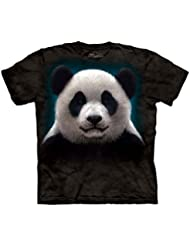 The Mountain Unisexe Enfant Tête De Panda T Shirt
