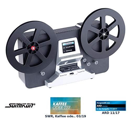 "Somikon Filmscanner: HD-XL-Film-Scanner & -Digitalisierer für Super 8 & 8 mm, bis 7""-Rollen (Super8 Digitalisierer)"