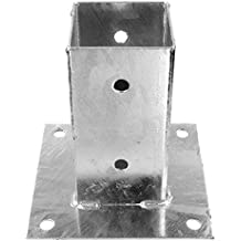 feuerverzinkt Durchmesser 71 mm f/ür 70 mm Holzpfosten 900 mm L/änge 1 Einschlagbodenh/ülse