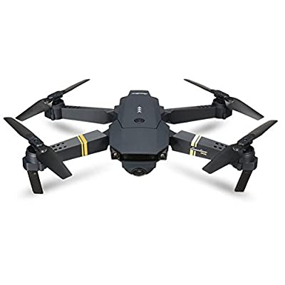 Brisky 2.4G 4CH 6-Axis Gyro 720P WIFI FPV Foldable Arm Selfie Drone Quadcopter w/High by Brisky