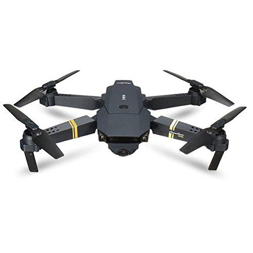 2.4G 4CH 6-Axis Gyro 720P WIFI FPV Foldable Arm Selfie Drone Quadcopter w/High (Black, 14 years)