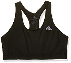 adidas Damen Sport BH mit Leichter Unterstützung Don't Rest Alphaskin, Black, L, CF6599