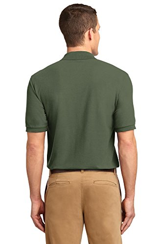 NEW Port Behörde Silk-Touch Sport T-Shirt Harvest Gold, M Grün - Clover Green
