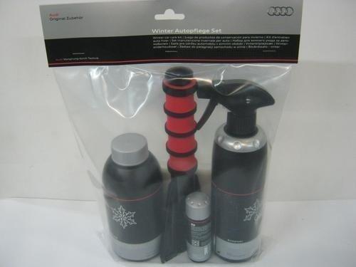 Audi 4L0096352020 Kit de Produits d'Entretien pour l'Hiver Set de 5