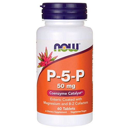 Now Foods, P-5-P, Coenzyme B6, 50mg x60tabs - Vitamine B6 - P5P