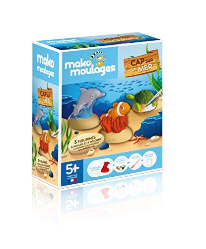 Mako Moldes – Kit creativo – 3 moldes animales