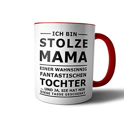 GeschenkIdeen.Haus - Kaffeetasse mit Spruch STOLZE MAMA