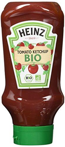 Heinz Tomato Ketchup Bio, Kopfsteher-Squeezeflasche, 5er Pack (5 x 500 ml)