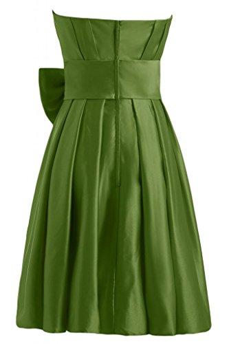 Sunvary nuovo arrivo A-Line senza spalline Homecoming corto da Cocktail Party Dresses Green