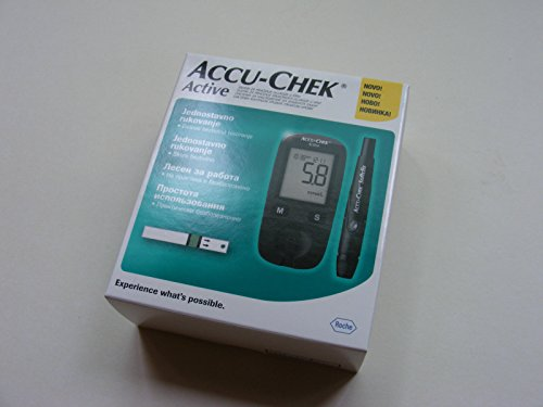 roche-accu-chek-active-blood-glucose-meter-monitor-160-test-strips