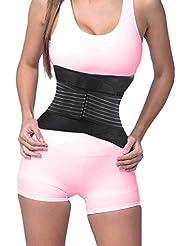 DODOING Fitnessgürtel Bauch für Männer und Frauen Slimmer Belt, Bauchweggürtel
