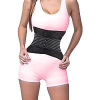 DODOING Sport Abnehmen Taillen Trimmer Gurt, Gewicht Verlust Gürtel, Taillentrainer Fitnessgürtel Bauch und Rücken Lendenwirbelstütze für Damen und Herren