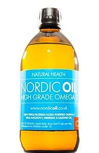 Nordic oil high strength 500ml omega 3 fish oil taste for Is fish oil safe during pregnancy