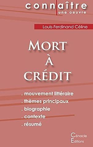 Fiche de lecture Mort à crédit de Louis-Ferdinand Céline (analyse littéraire de référence et résumé
