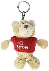 NICI n15781-Llavero Oso con Camiseta Barbara, Rojo