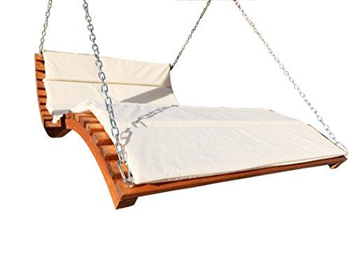 ASS Design Hollywoodliege 'Aruba-Lounger' aus Holz Lärche (ohne Gestell) von