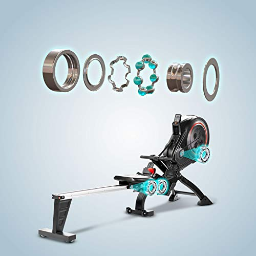 AsVIVA RA14 Rudergerät Magnetic Rower Bild 6*