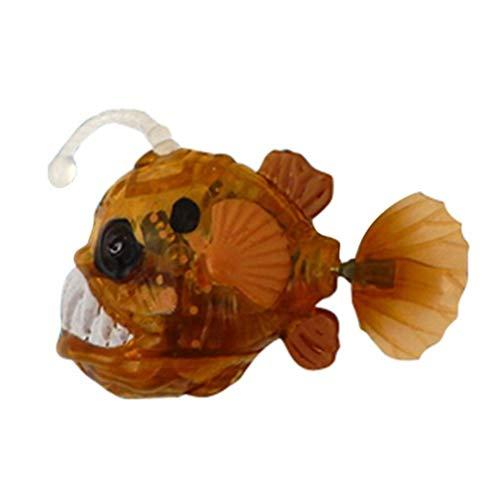 Daxoon Elektrischer Roboter Fisch Leuchtender Fische für Kinder Spielzeug