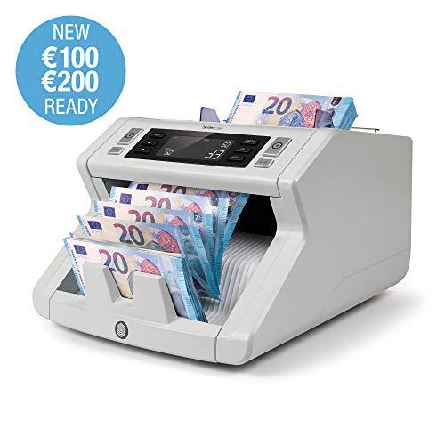 Safescan 2210 - contabanconote per banconote non miste con rilevamento della contraffazione in 2 punti