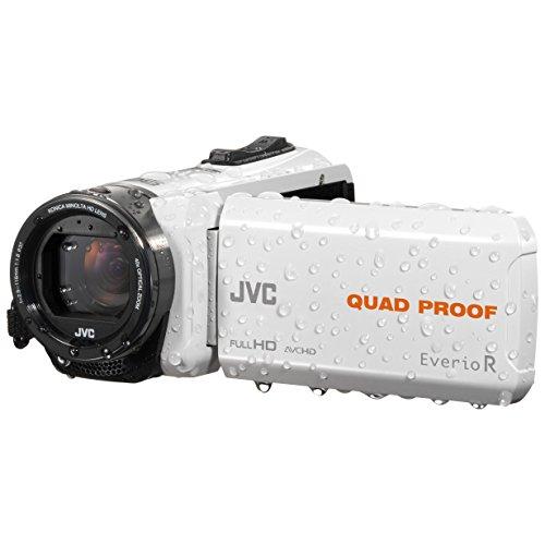 JVC GZ-R435WEU (Flash-Speicher/Speicherkarte,1080 Pixels)