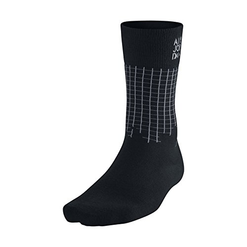 Nike [642207-010] Air Jordan Schablone Crew Socke Zubehör Socken Air jordanblack grau (Jordan 13 Socken)