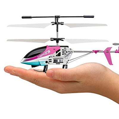 RC 3 Channel IR Control with Gyroscope Metal Frame RC Helicopter