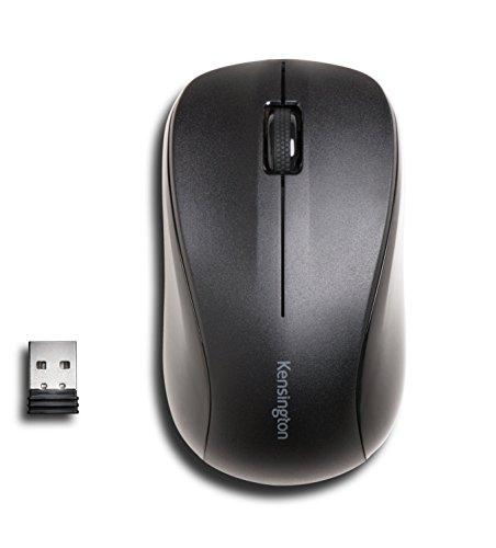 Kensington K72392EU Valu-Maus kabellos ohne Klickgeräusch für Win/Mac/Mac OS/OS X schwarz -