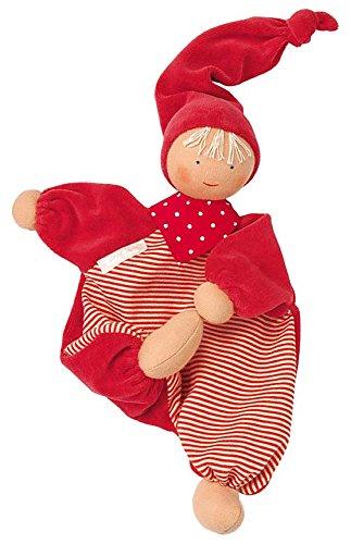 Preisvergleich Produktbild Käthe Kruse Stoffpuppe, rot Weichpuppen Biegepuppen Babypuppe