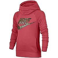 Nike G Nsw Mdrn Hdy Oth Gx Snl Sudadera Con Capucha de Entrenamiento, Niñas, Brasa Resplandor, XL