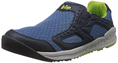 Lee Cooper Men's Navy Mesh Running Shoes - 11 UK