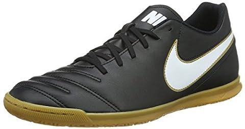 Nike Herren Tiempo Rio Iii IC Fußballschuhe, Schwarz (Black/White), 44 EU