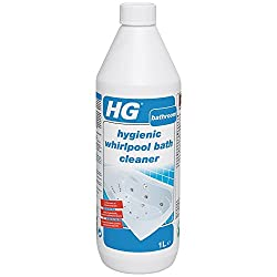 HG hygienic whirlpool bath cleaner 1L - A whirlpool bath cleaner that cleans hygienically and removes unpleasant odours.